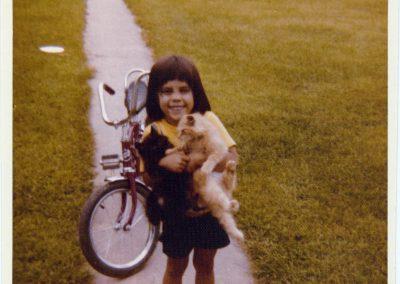 Dr Lisa Aumiller, 1978.