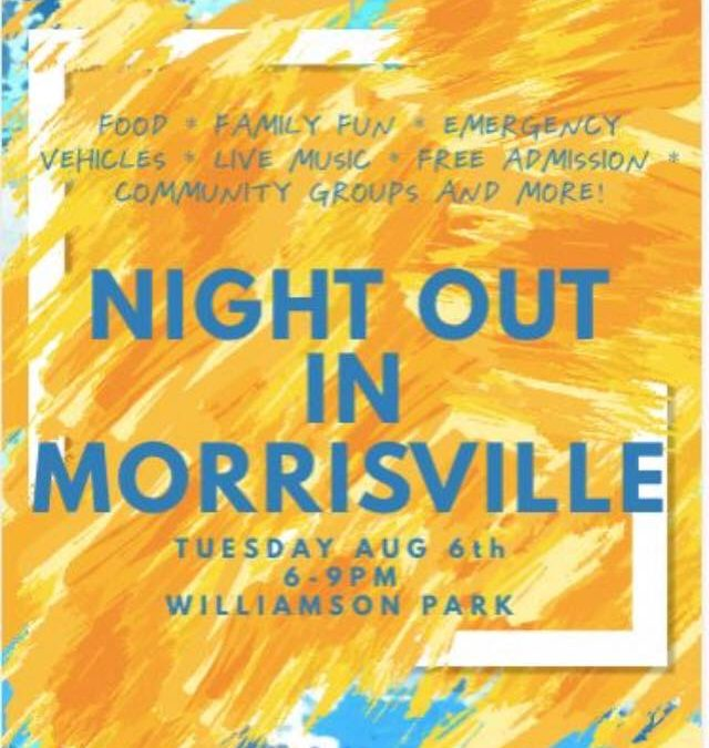 National Night Out in Morrisville 2019