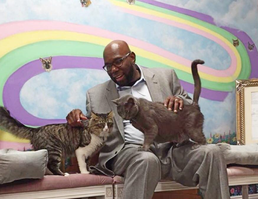 Animal Heroes of HousePaws: Senator Troy Singleton