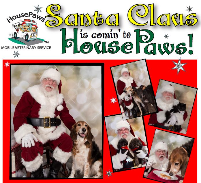 Santa Claus is Comin' to HousePaws